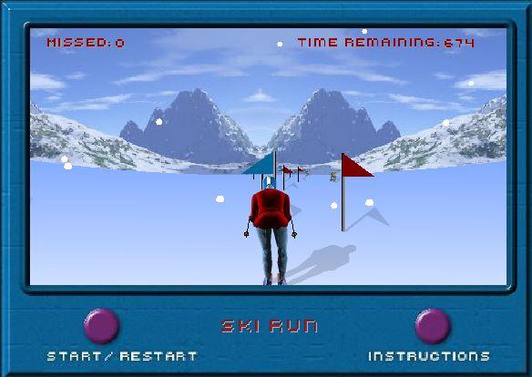 بازی انلاین اسکی رانی